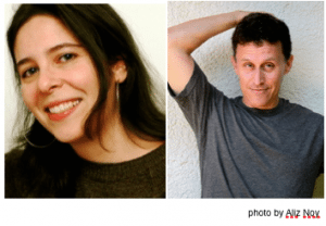 Jessica Cohen and Evan Fallenberg